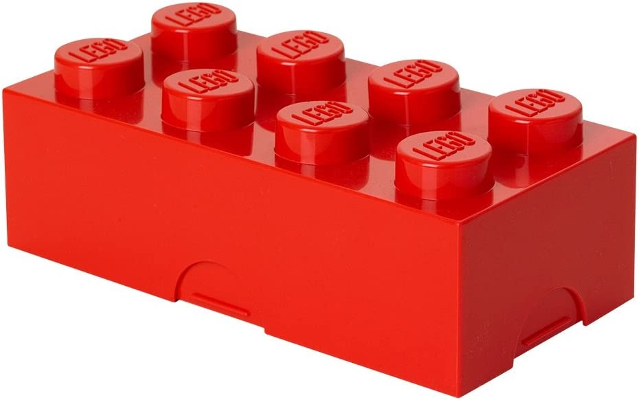 LEGO Lunch Box, Red