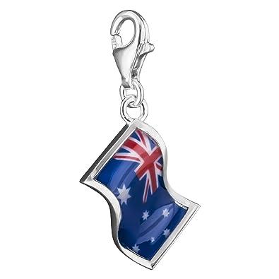 Thomas Sabo Charm pendant flag Australia blue 1145-603-1 Thomas Sabo CrShlWmlk