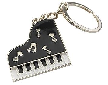 Piano Llavero Colgante de metal, diseño: Amazon.es ...