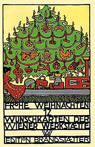 Card Verlag Weihnachtskarten.Frohe Weihnachten Bildpostkarten Der Wiener Werkstätte Christian