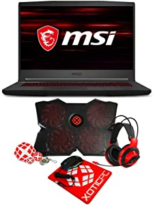 "MSI GF65 Thin Enthusiast 15.6"" 144Hz IPS Intel Core i7 9th Gen 9750H (2.60 GHz) GeForce RTX 2060 32 GB Memory 1TB 970 EVO Plus NVMe SSD Windows 10 Home 64-bit 9SEXR-838 Gaming Laptop"