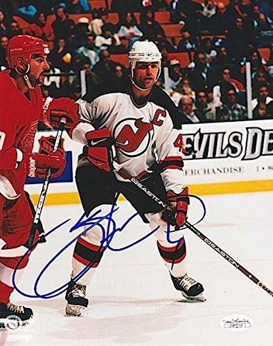 4e7300b1 Scott Stevens Autographed Picture - 8X10#G41103 - JSA Certified - Autographed  NHL Photos