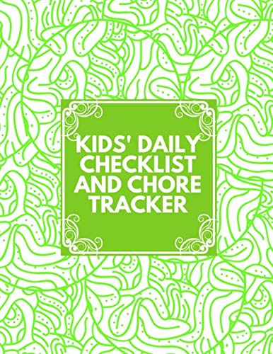 Kids' Daily Checklist and Chore Tracker: Kids' Chore Chart Notepad Organizer, Tasks Tracking Checklist, Responsibility Training System, Cleaning ... Christmas, Easter, 110 (Chore Notebook) (System Wall Tracking)