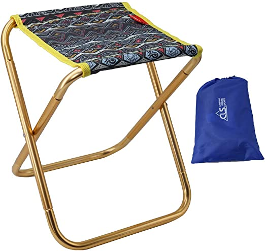Gonex Camping Stool Lightweight /& Portable Folding Camp Chair Foldable Outdoor Camping Stools for Camping Fishing Hiking Garden Beach