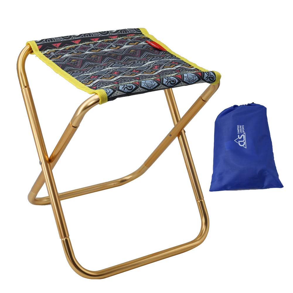 Folding Camping Stool Chair,Portable Folding Stool Camp Chair Outdoor Lightweight Camp Stool Mini Samll Chair with Carry Bag for Camping Fishing BBQ Garden Travel Hiking Picnic Beach Blue