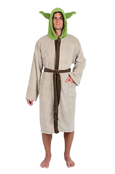 Gray Star Wars Yoda Bathrobe