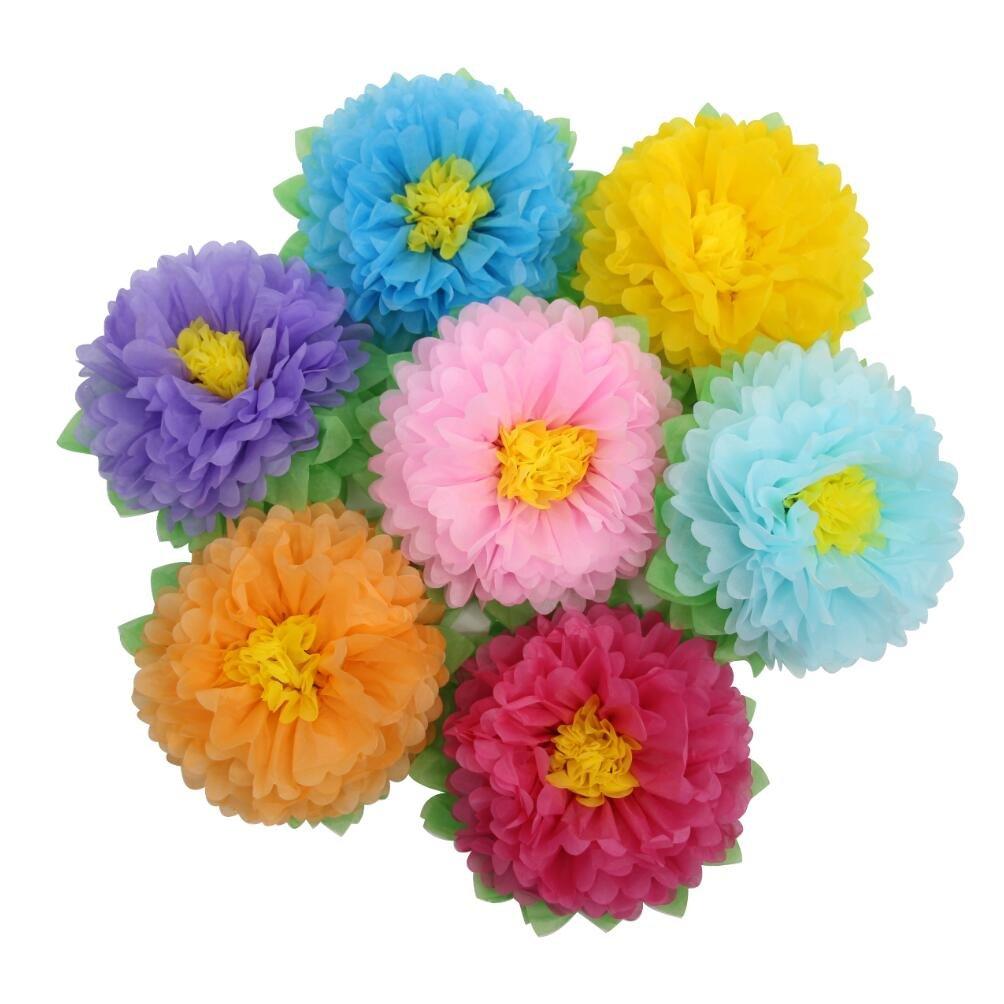 Amazon Mybbshower 11 Inch Tissue Paper Flower Backdrop Diy