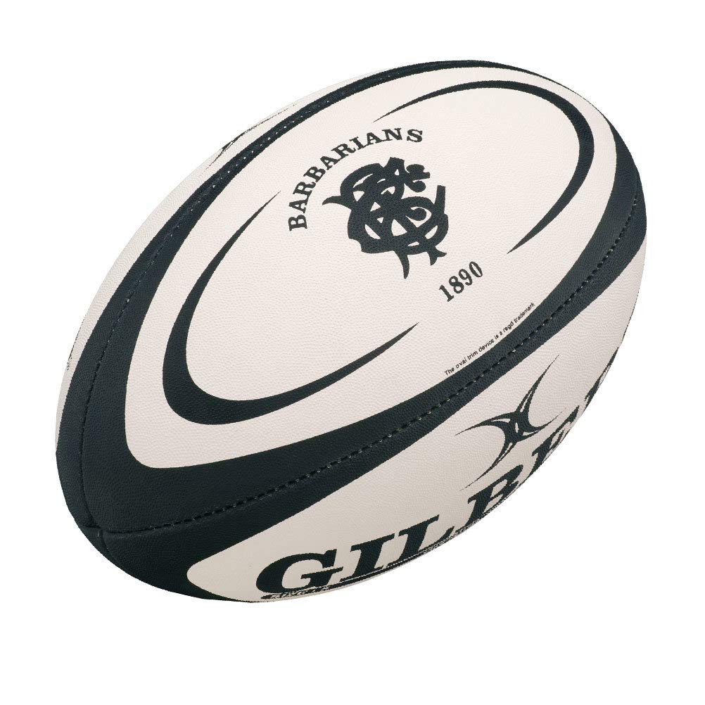 Gilbert Bárbaros Réplica Rugby Bola - Blanco, Mini Tamaño 1 ...