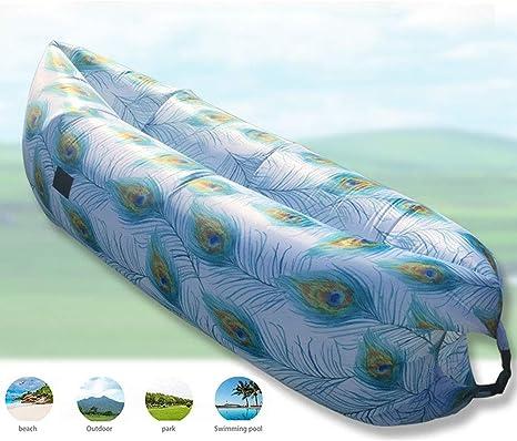 TZTED Sofa Hinchable del Aire del Ocioso de Playa Sofa Inflable ...