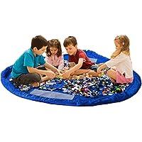 Bolsa de almacenamiento de juguetes para Lego, Bolsas de organizador, Alfombra de juego para niños - Organizador…