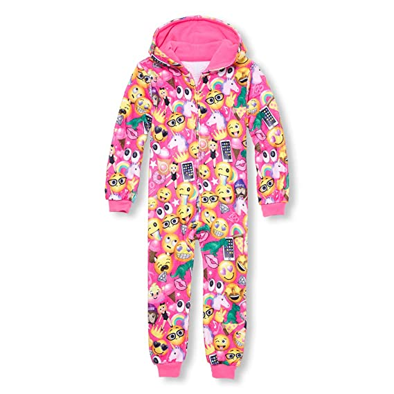 The Children's Place Big Girls' Printed Onesie