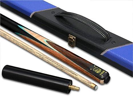 ZXH 3/4 Snooker Taco de Billar, Ceniza 145cm Hecho A Mano Punta de ...