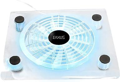 Eaxus®️ refrigerador ventilador de refrigeración PlayStation 4 - ❄️ Soporte de ventilador LED para PS4, PS4 Pro y ...