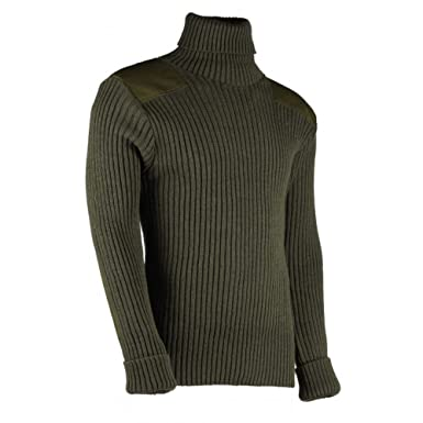 aacdee2bd082 Amazon.com  TW Kempton Chatham Woolly Pully Roll Neck Sweater  Clothing