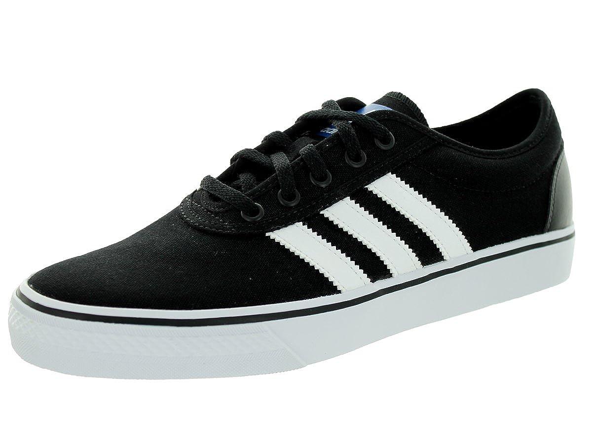outlet store f74b6 34388 Amazon.com  adidas Adi-Ease Skate Shoe - Mens BlackWhiteBlack, 10.0   Skateboarding