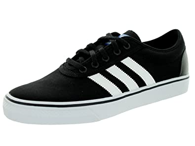 adidas Adi-Ease Skate Shoe - Men s Black White Black 78f57549ade4