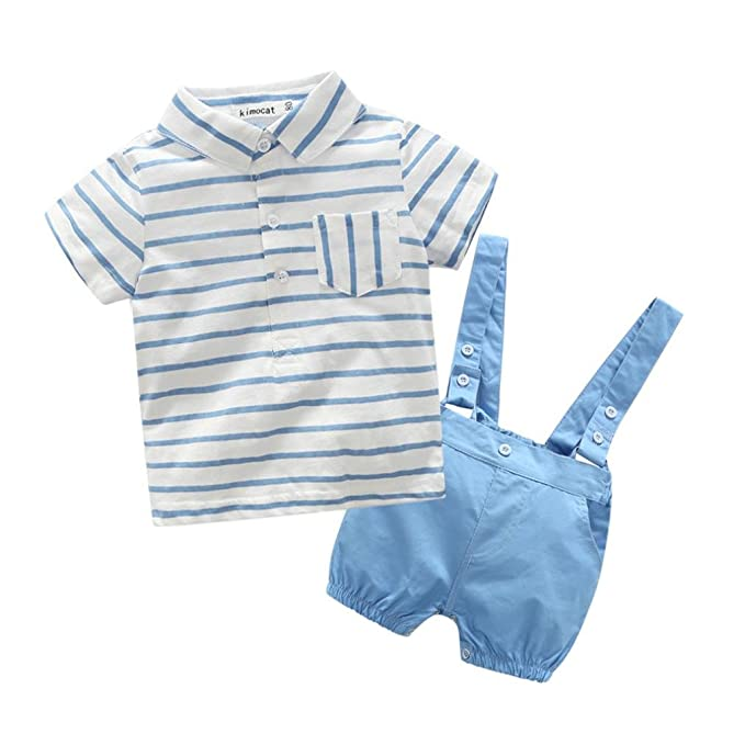 Amazon.com: kstare bebé niños trajes Caballero pajarita ...