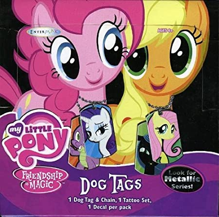 MY LITTLE PONY SERIES 2 DOG TAGS  LOT OF 12 NEW SEALED PACKS