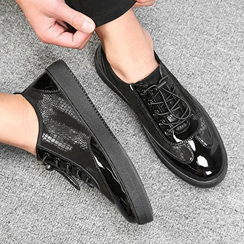Color Leisure 2 Trend CN44 Colours Shoes Size Men's and 01 UK9 EU43 Leather Autumn Feifei Youth Shoes Spring xgqqw170v