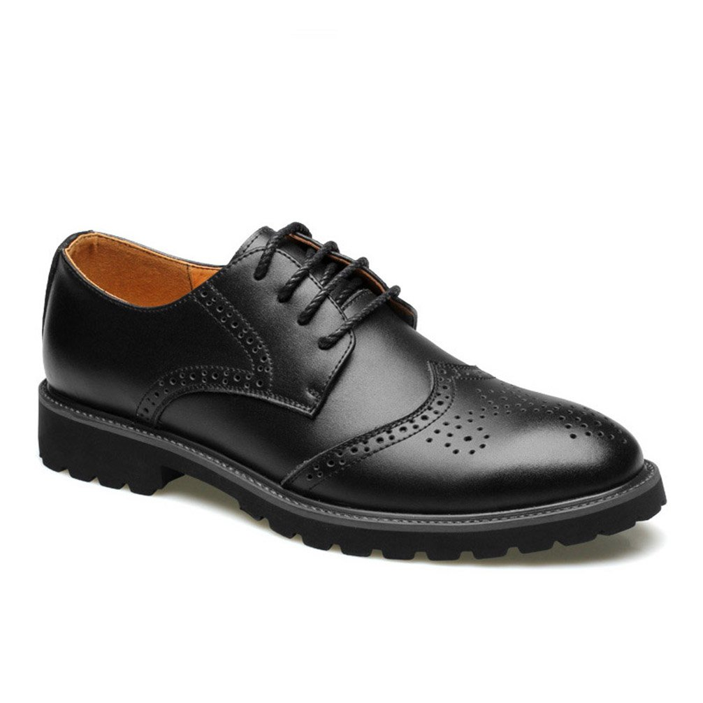 Phil Betty Mens Formal Shoes Lace-Up Flats Fashion Business Oxford Shoes