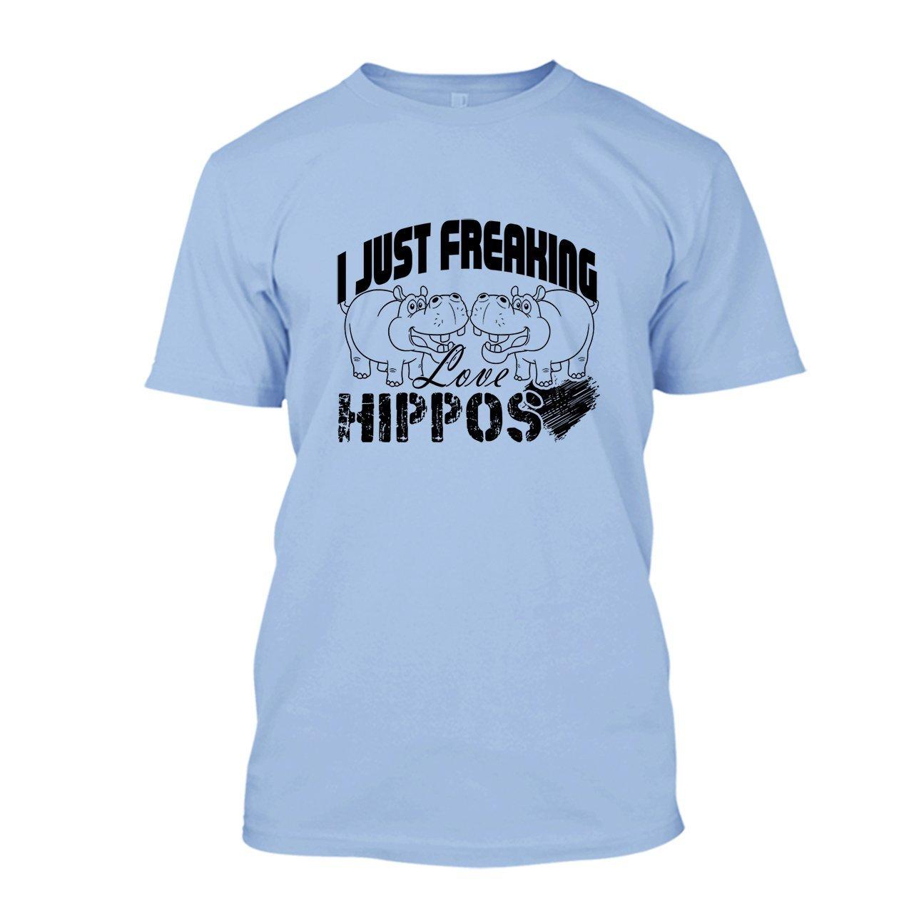 Tee Shirt Sweatshirts All White I Love Hippos T Shirt