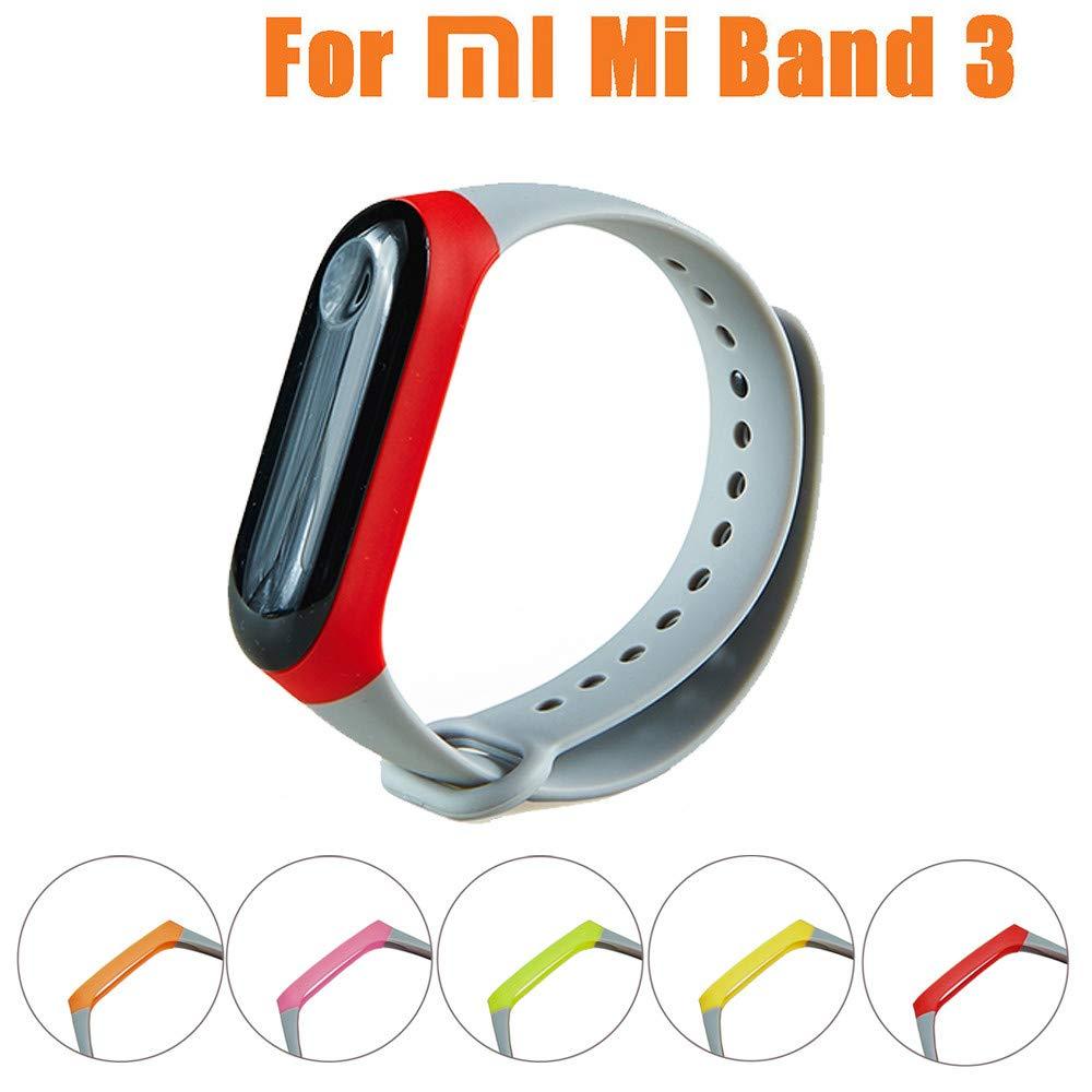 Xiaomi Band 3 NFC, Zolimx Reemplazo de Silicona Reloj ...