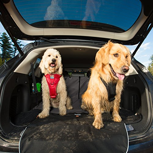 Kurgo-Car-SUV-Trunk-Cover-for-Dogs-Waterproof-Liner-for-Cargo-Area-Dog-Nonslip-Protector-Bumper-Flap-for-Extra-Protection-Stain-Resistant-Machine-Washable-2-Storage-Pockets-Cargo-Cape