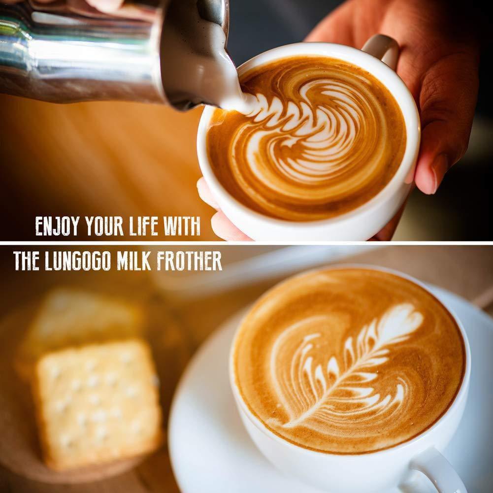 heresell montalatte/ /Best soia Latte Mixer/ /Potente Schiumatore per Latte Cappuccino Wand/ /sbattitore Elettrico Frusta/ /eBook Gratuito /Schiuma di Latte Caldo Maker/