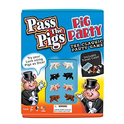 Pass The Pigs (Party Edition) (Colors May - Pigs Game Classic Party