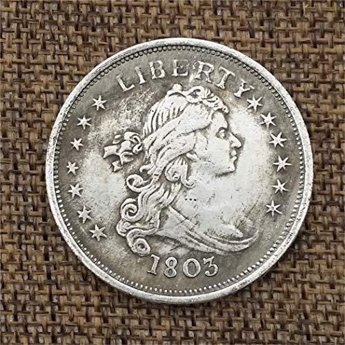 KaiKBax Best Morgan Silver Dollars-1803 Old Coin Collecting-Silver Dollar USA Old Original Pre Morgan ()