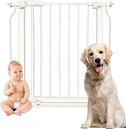 Huo Barrera de Seguridad Perro de Interior, Cerca del Perro, Perro de Guardia de La Puerta for Mascotas de La Puerta de La Escalera de Umbral Escalera de La Cocina: Amazon.es: Hogar