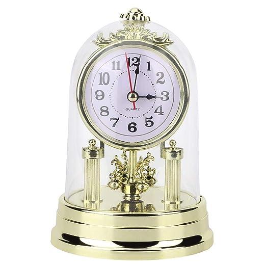 Cafopgrill Despertador, Reloj de Mesa Reloj de Sala de Estilo ...