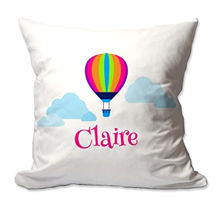 Amazon.com: Personalizado globo de aire caliente Throw ...