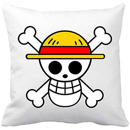 Diver Bebé Cojín con Relleno One Piece Logo - Blanco, 35 x ...