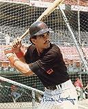 Autographed Santiago Photograph - 8x10 W coa - Autographed MLB Photos