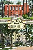 Lantern Press Saratoga Springs, New York - Greetings from Skidmore College Scenes (12x18 Art Print, Wall Decor Travel Poster)
