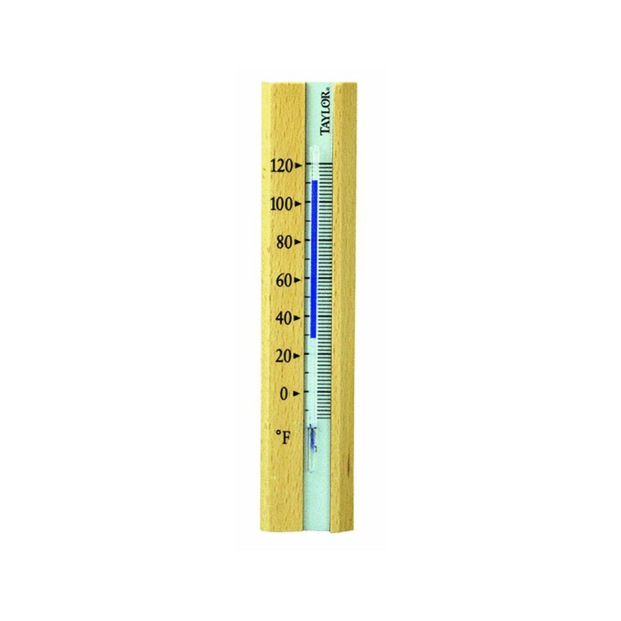 Amazon.com: Taylor Precision 5141 Wood Indoor Window Thermometer ...