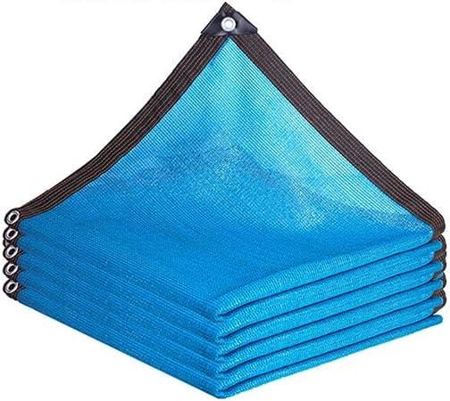 HLMBQ Malla Sombreo 90% Azul 2 x 10 m,Malla Ocultación,Protección de privacidad Red Resistente a UV Duradera jardín Planta terraza Invernadero: Amazon.es: Hogar