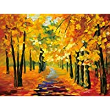 BEAUTS The new version of the gold floor -dimensional painting painting romantic autumn 3D Videos