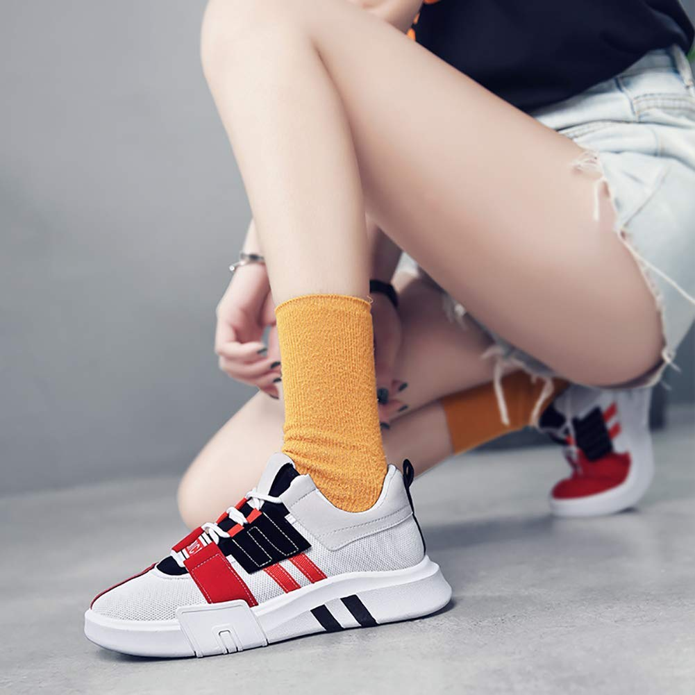 KEREE Womens Breathable Athletic Flyknit Sneakers Walking Jogging Running Shoes