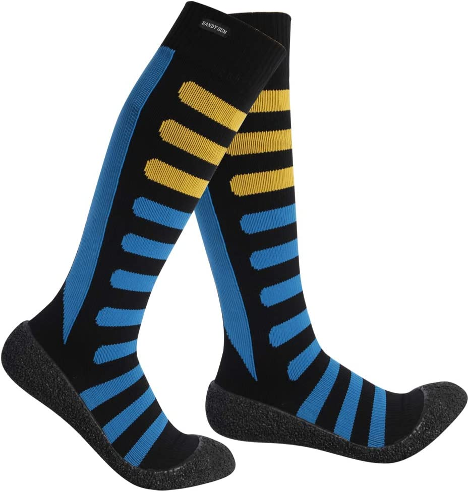 Outdoor Sports Striped Breathable Soccer Socks Unisex Cycling Running Socks JF#E