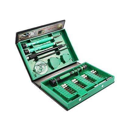 OurLeeme - Juego de destornilladores 38 en 1 para reparación de precisión, kit de herramientas