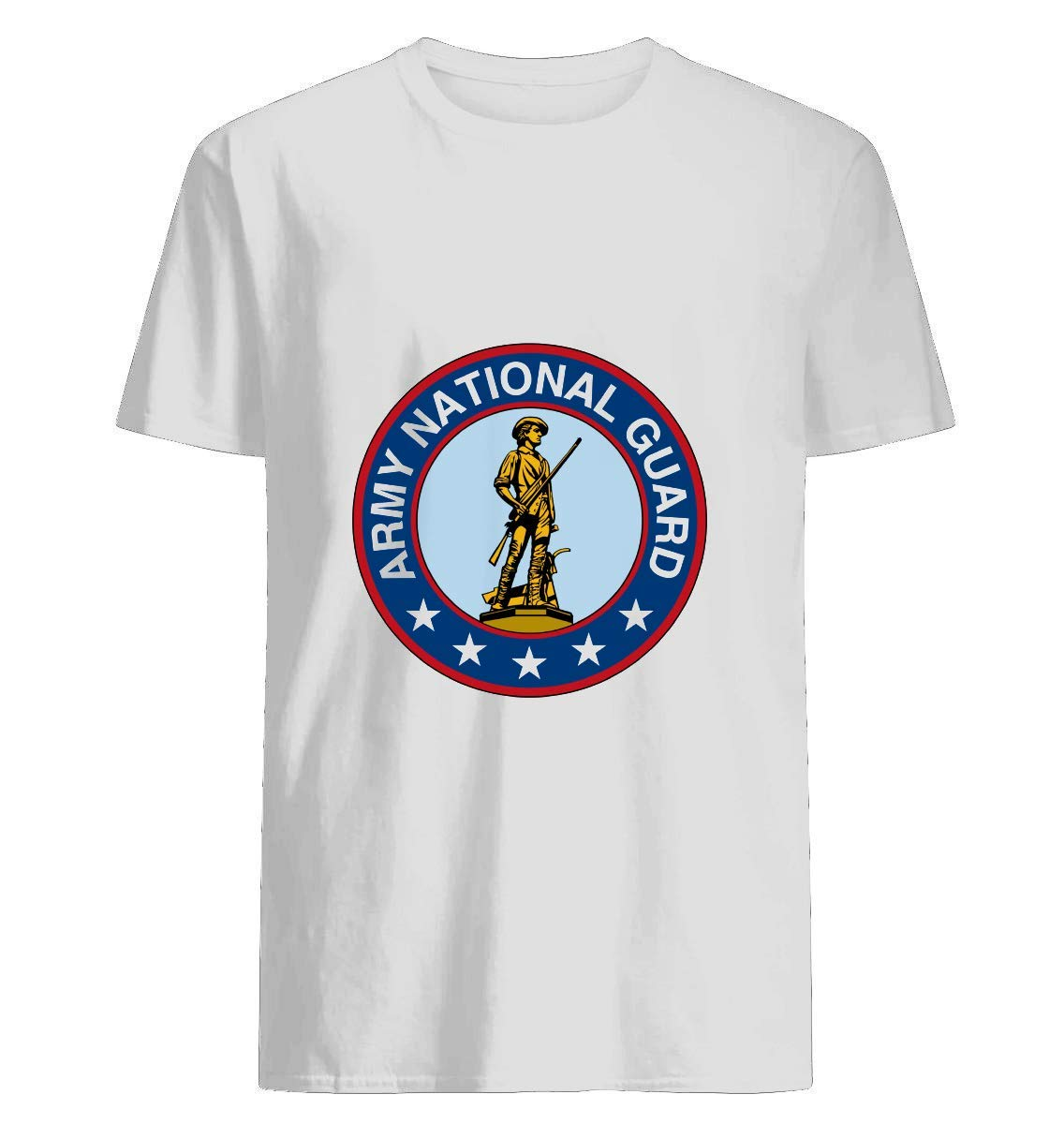 Army National Guard Insignia T Shirt For Unisex