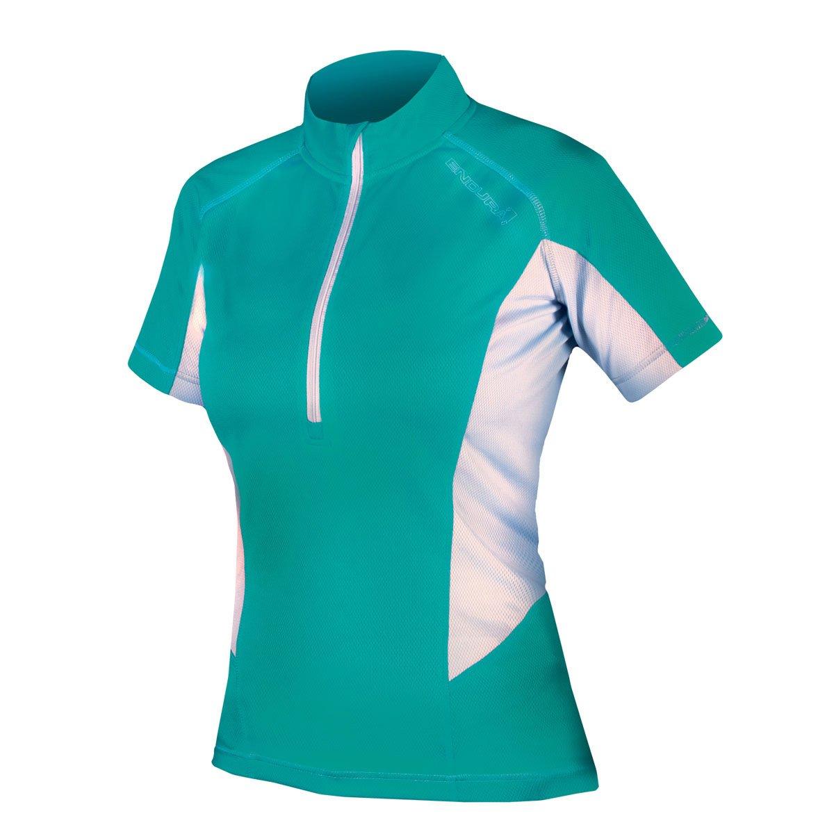 Endura Womens Pulse Short Sleeve Cycling Jersey B00MEGS4M4 XL|ティール ティール XL