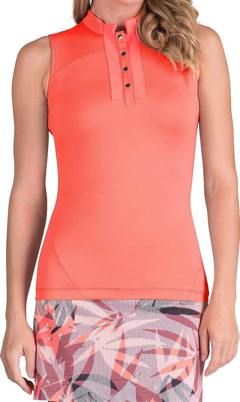 [テイル] レディース シャツ Tail Women's Morgan Sleeveless Golf Polo [並行輸入品] XS  B07TF6HJF2