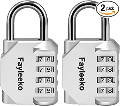 2Pack write-on heavy duty combination locks Super fast FREE Shipping