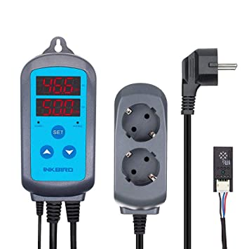 Inkbird ITC-308 Temperature Controller Temperaturregler Heizen /& Kühlen Control