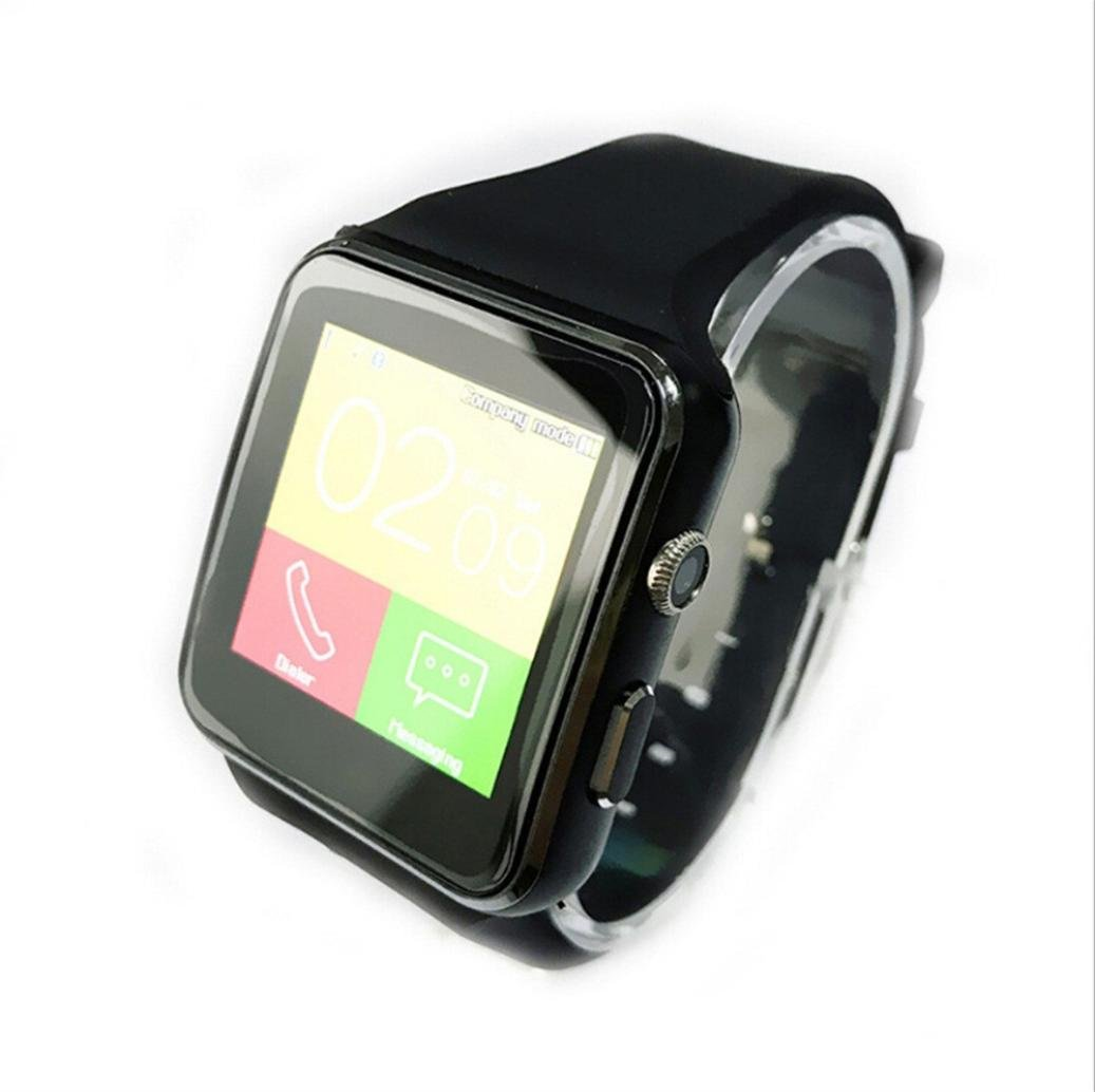 JIANGFU Sport Smart Watch, Curved Mate SIM X6 Bluetooth ...