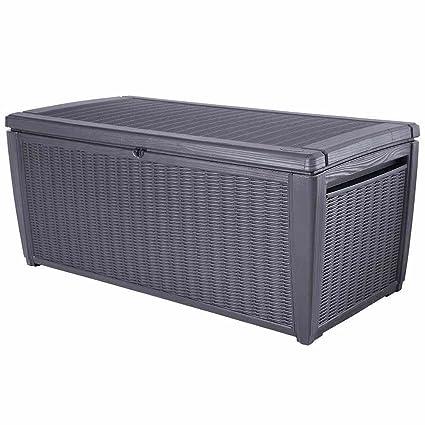 Keter Storage Box Garden Storage Plastic Cushion Storage Box
