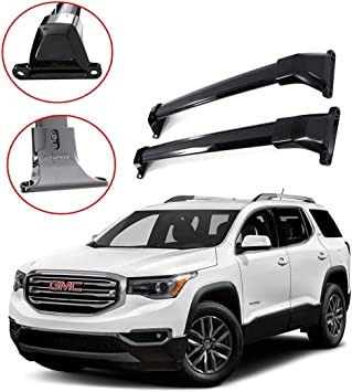 Rokiotoex Roof Rack Crossbars Roof Rail Cross Bars Fit 2017 2018 2019 2020 2021 Gmc Acadia Side Rails Rooftop Cargo Bag Holder Luggage Kayak Carrier Aluminum Black Cargo Bars Amazon Canada